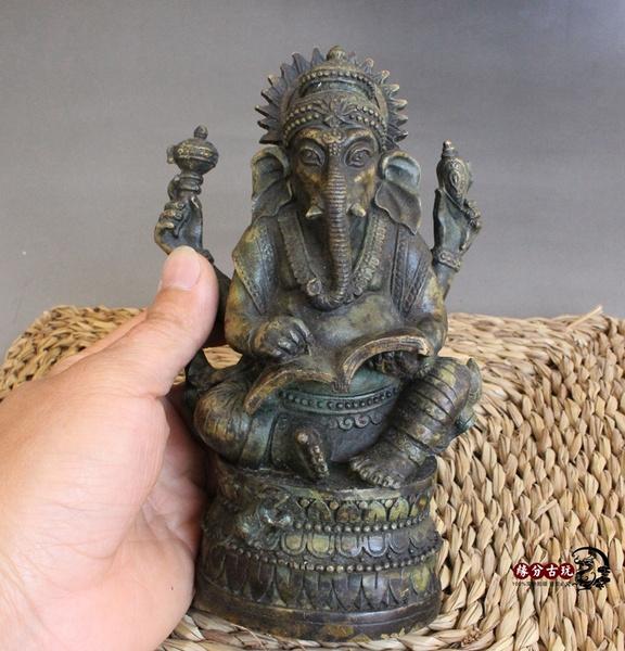 Antique, buddhastatue, old, oldantique