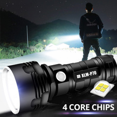 Flashlight, led, usb, camping