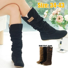 Plus Size, Winter, long boots, boots for women