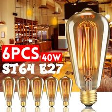 incandescentbulb, Antique, lights, edisonlight