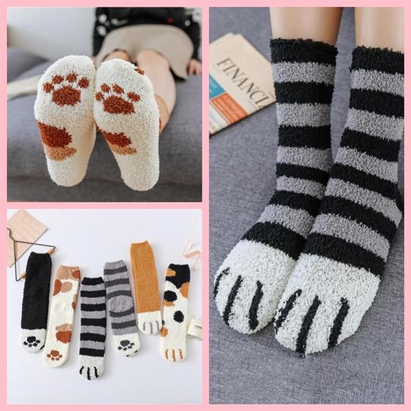 cute, fluffyfuzzy, Winter, wintersock