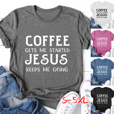 Funny, Coffee, Fashion, Cotton Shirt