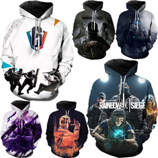 rainbow, Fashion, rainbowsixsiegesweatshirt, rainbowsixsiege