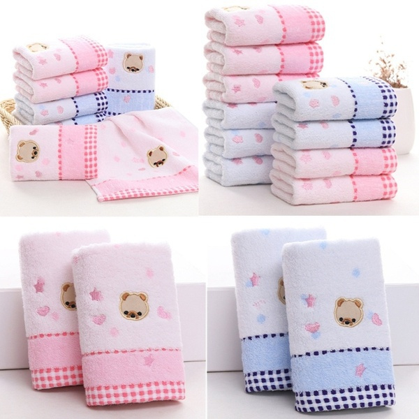 Cotton, cute, Bathroom, babytowel