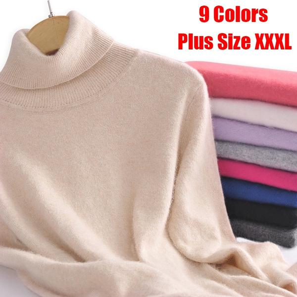 highnecktop, Plus Size, Knitting, Necks