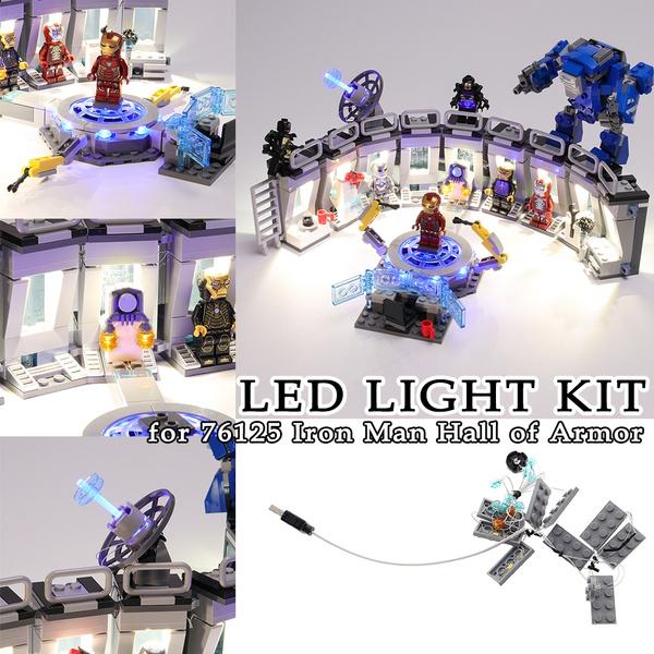 Toy, led, usb, ironmanhallofarmor