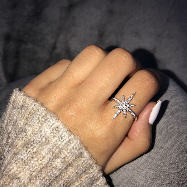 Sterling, DIAMOND, Star, diamondengagementring