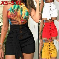 Plus Size, Waist, pants, Short pants