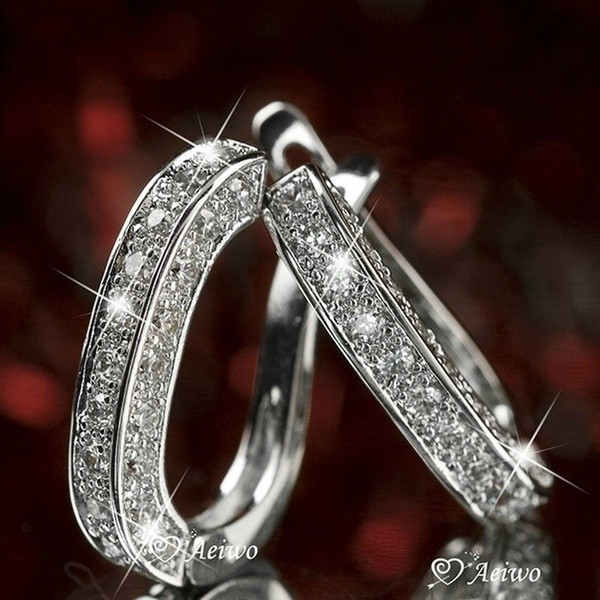 Sterling, White Gold, Fashion, Jewelry