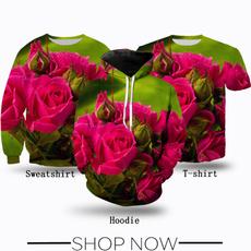 Fashion, T Shirts, Flowers, Hoodies