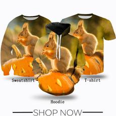 Fashion, squirrel, T Shirts, Women Clothing