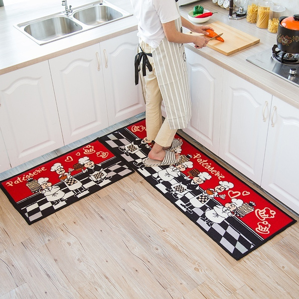 Chef Master Microfiber Anti Skid Kitchen Mats Non Slip Door Mats Wish