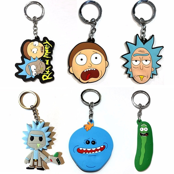 morty, Key Chain, Jewelry, Gifts