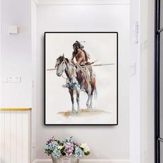Decor, living room, art, wallpicture