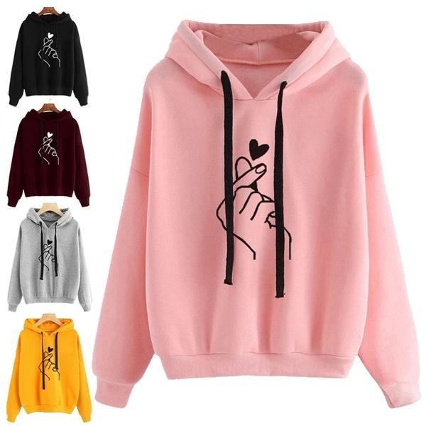 Fashion, Long Sleeve, hoodiejacket, Loose