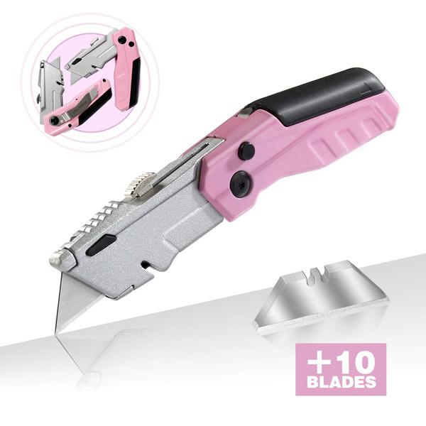 pink, Box, Blade, Aluminum