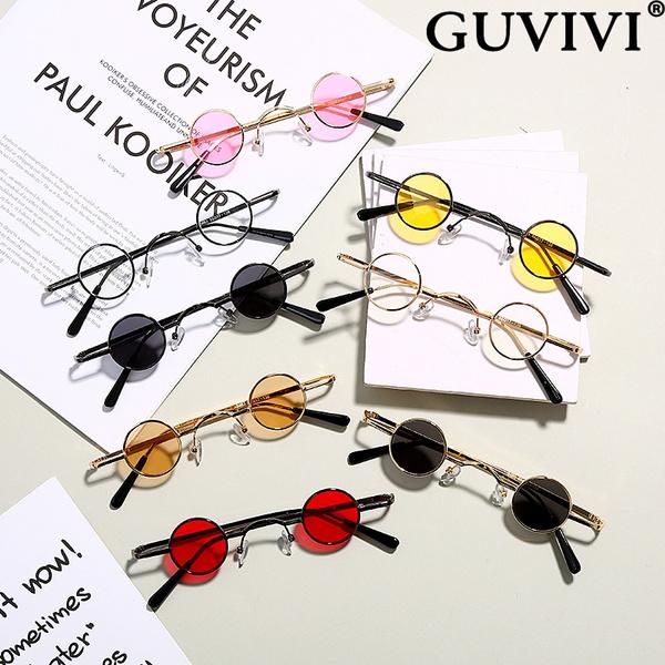 Round Sunglasses, Fashion Sunglasses, unisex, Vintage