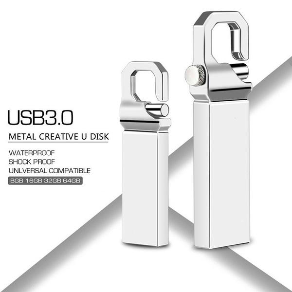 usb, Waterproof, Storage, Metal