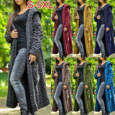 Plus Size, cardigancoat, sweater coat, Long Sleeve