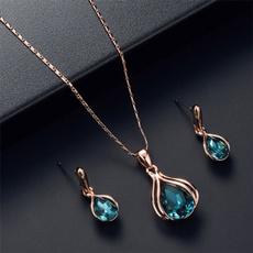 Fashion, neckalceearringset, gold, gold necklace