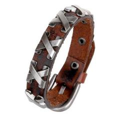 Charm Bracelet, gothicbracelet, Metal, Men