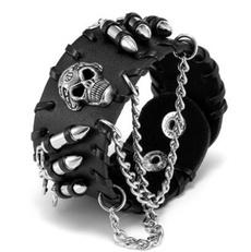 Charm Bracelet, Goth, gothicbracelet, Chain