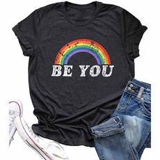 Funny T Shirt, plussizetshirt, letter print, short sleeves