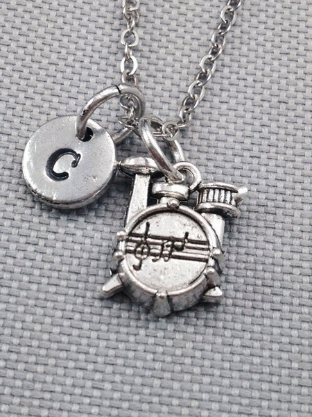 drumsetfree, Jewelry, Gifts, initial