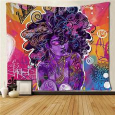 Wall Art, africanamericanwomentapestry, 3dprintingtapestry, hangingtapestry