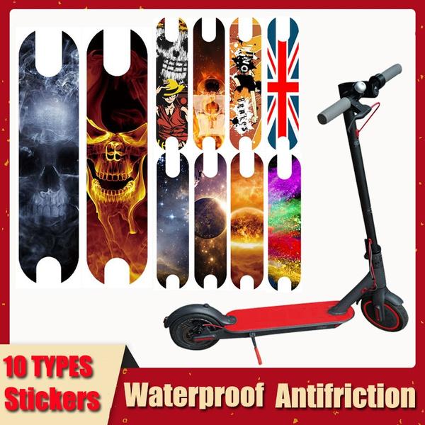 scootersticker, diy, electricskateboard, scooterskullsticker