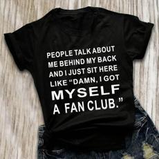 Funny, Short Sleeve T-Shirt, tops shirts for women, Shirt