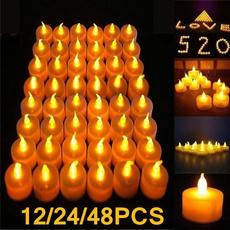 lights, led, Romantic, candlelight