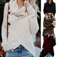 women pullover, cardigan, Winter, Long Sleeve