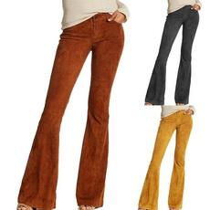 solidcolortrouser, slimfittrouser, pants, bellbottom