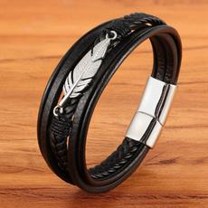 Charm Bracelet, Steel, bikerbracelet, gothicbracelet