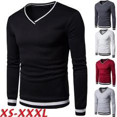 Polyester, Sleeve, vneckmenssweatshirt, Long Sleeve