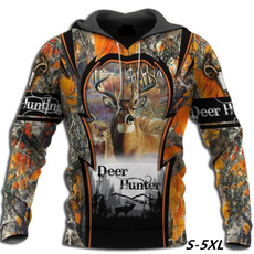 3D hoodies, Fashion, Hunting, teenclothe