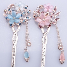 classicalhairpin, Flowers, straightpin, Classical