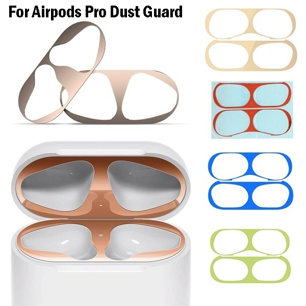 case, airpodsprocover, gold, Metal