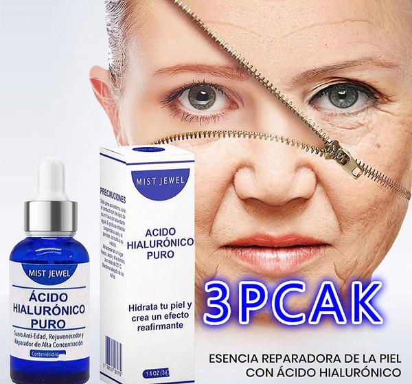 arruga, puro, hyaluronic, facial
