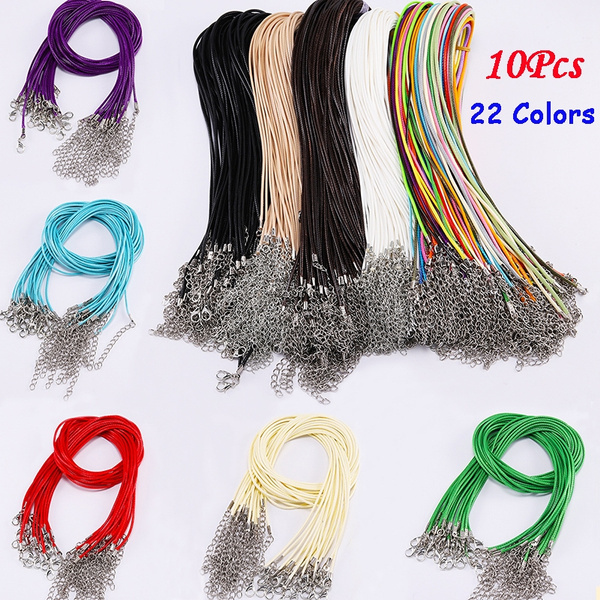 Rope, Jewelry, leather, Necklaces Pendants
