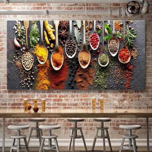 art, Home Decor, Posters, kitchenrestaurantmural