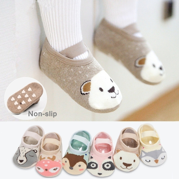 non-slip, cute, Infant, Cotton Socks