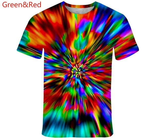 rainbowvertigo, Funny, shortsleevestshirt, 3drainbowvertigotshirt