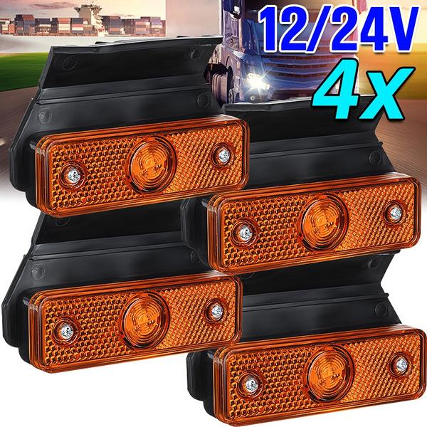 indicator, Vans, caravan, sidemarkerlamp