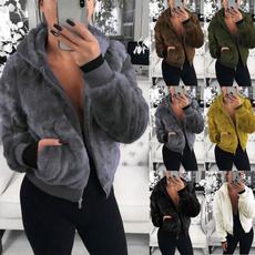 Pocket, Fashion, hooded, Winter