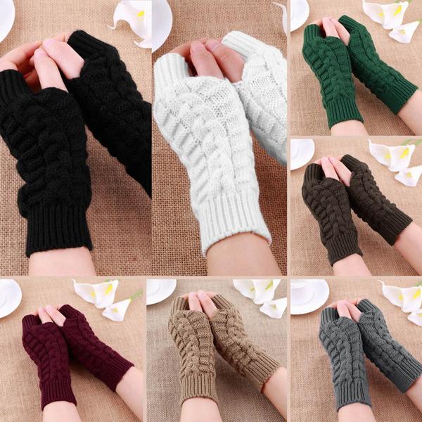 fingerlessglove, Wool, Winter, knittedglove