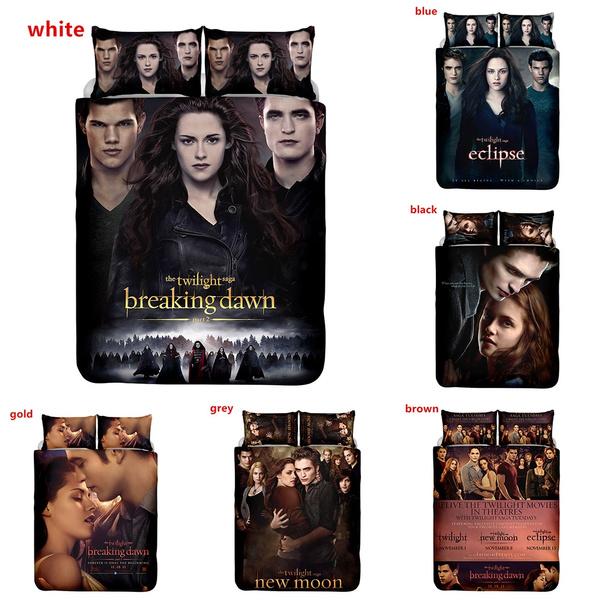 Twilight Saga Printing Duvet Cover, Twilight Bedding Set