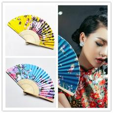 foldingfan, decoration, bamboofan, Chinese