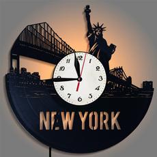 newyorkcitywallclock, antiqueclock, Clock, New York